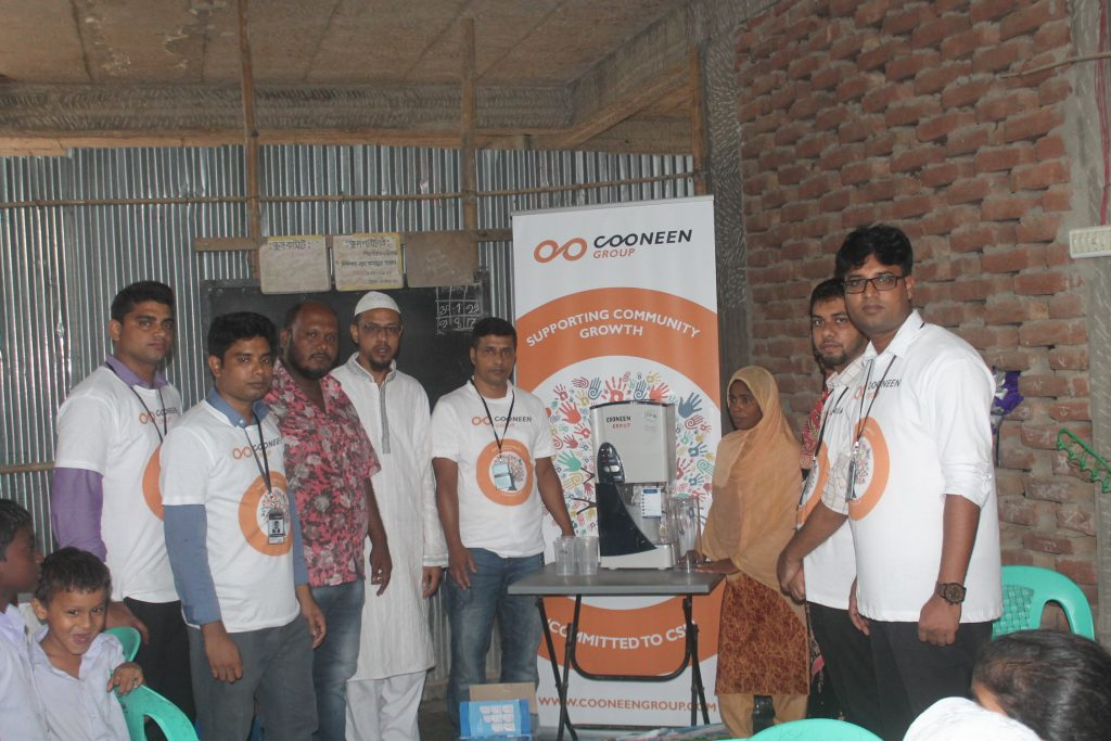 Cooneen Group CSR Supporting Community Group in Bangladesh